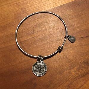 Carpe Diem charm and bracelet
